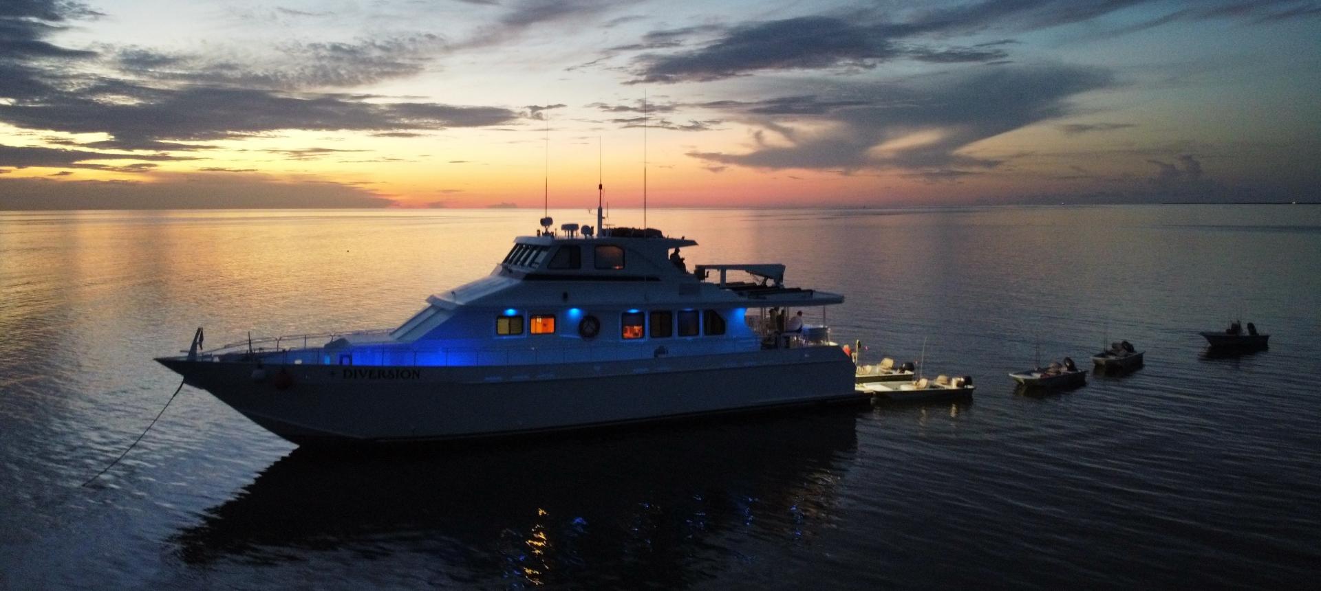 The Mothership   Chandeleur Islands   Diversion Charters